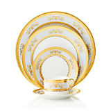 Philippe Deshoulieres Orsay Powder Blue Dinnerware Collection