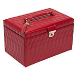 Wolf Caroline Red Jewelry Case