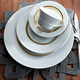 Charmante Maison Gold Dinnerware Collection