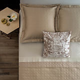 Gracious Home Luxury Bedding Vienna Coverlet & Euro Sham