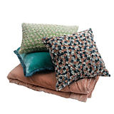 Anke Drechsel Pastel Velvet Throws & Pillows