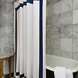 Sferra Orlo Shower Curtain