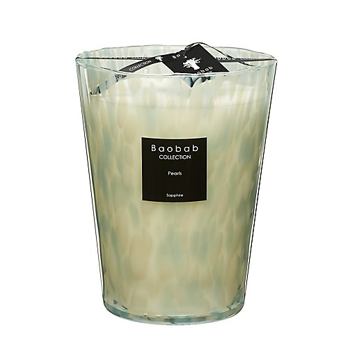 Baobab Collection Sapphire Pearls Candle