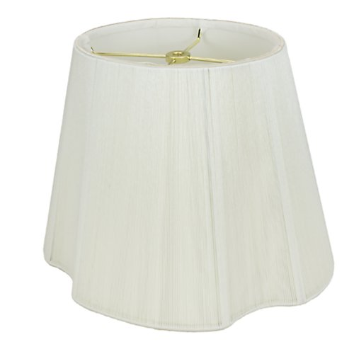 Monterlite Ivory Silk String French Oval Lamp Shade