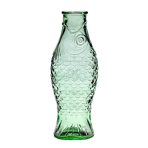 Serax Fish Green Bottle