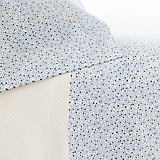 Pine Cone Hill Confetti French Blue/Indigo Sheet Set