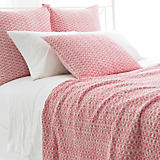 Pine Cone Hill Tyler Coral Quilt & Sham