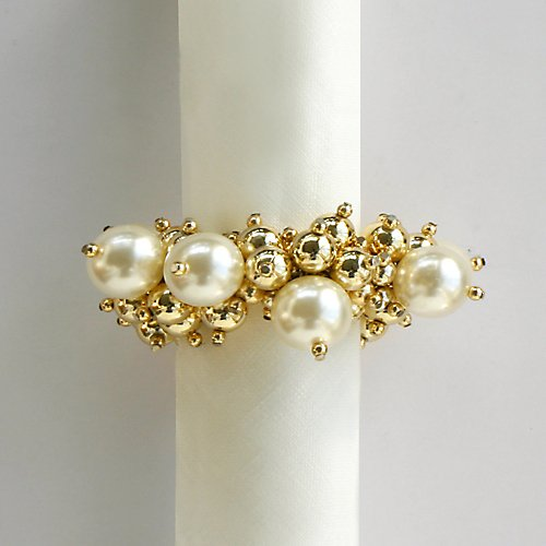 Dransfield And Ross Pearls Napkin Ring