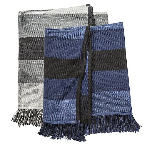 M.Patmos Bauhaus Fringed Throw