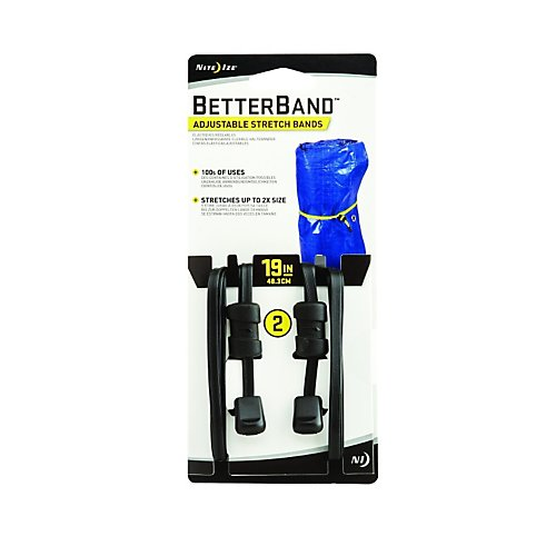 "Nite Ize BetterBand 19"" Adjustable Stretch Bands"