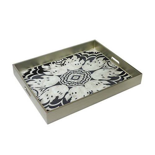 Arcadiahome Reverse Painted Mirror Tray
