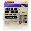 Frost King Poly Foam Weather Seal Tape