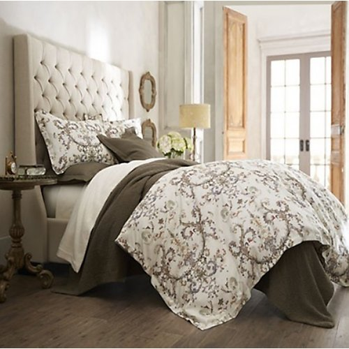 Peacock Alley Alena Linen Duvet Cover
