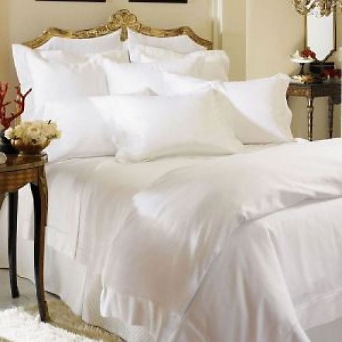 Sferra Giza Percale Fitted Sheet