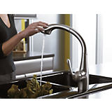Hansgrohe Allegro E 2-Spray SemiArc Pull-Out Kitchen Faucet