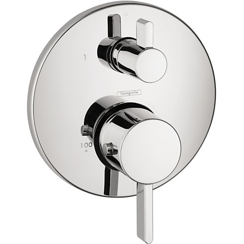 Hansgrohe Ecostat S Thermostatic Trim with Volume Control and Diverter