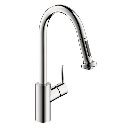 Hansgrohe Talis S 2-Spray Pull-Down HighArc Kitchen Faucet