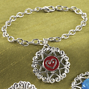 Bracelet 10 Interchangeable Charms
