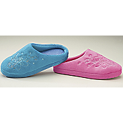 Womens Embroidered Scuff