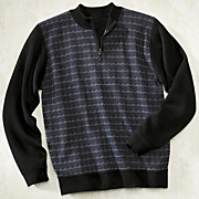 Mens Zigzag Sweater