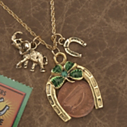 Lucky Irish Coin Pendant