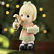 light Your Heart With Christmas Joy 2012 Dated Figurine
