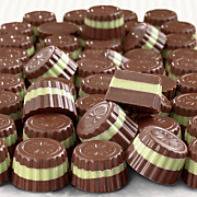 Chocolate Layered Mints 1