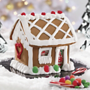 Fully Assembled Gingerbread House