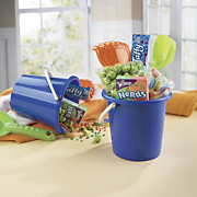 Candy-filled Beach Bucket