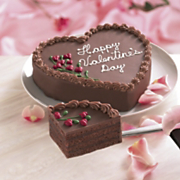 Chocolate Heart Cake 1
