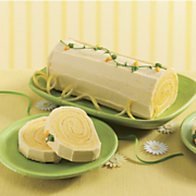 Lemon Log Cake