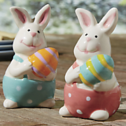 bunny salt pepper shakers