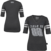 Dale Earnhardt Jr 88 Ladies Varsity 3 4 Sleeve Tee