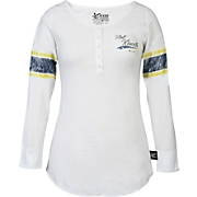 Matt Kenseth 17 Ladies Varsity Henley Tee