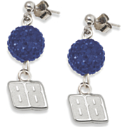 Dale Earnhardt Jr 88 Crystal Ovation Earrings