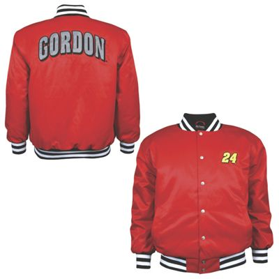 Jeff Gordon 24 Varsity Letterman Jacket