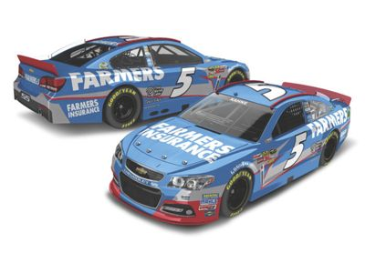kasey kahne 5 farmers insurance 2013 1 24 scale die cast