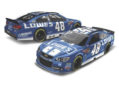 jimmie johnson 48 lowe s 1 64 scale die cast