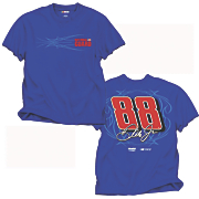 dale earnhardt jr 88 fan up tee