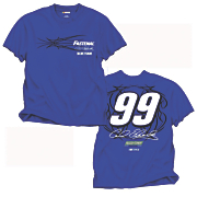 carl edwards 99 fan up tee