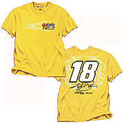 kyle busch 18 fan up tee
