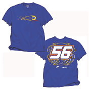 martin truex 56 fan up tee