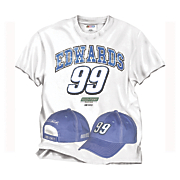 carl edwards 99 tee cap combo