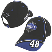 jimmie johnson 48 lowe s official pit cap