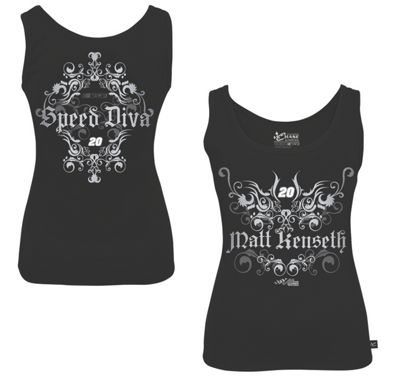matt kenseth 20 ladies speed diva tank