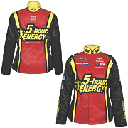 clint bowyer 15 ladies official replica uniform jacket