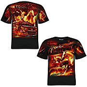 jeff gordon 24 extreme total print tee