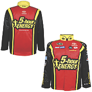 clint bowyer 15 official replica uniform jacket