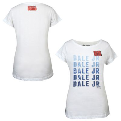 dale earnhardt jr 88 ladies repetitive tee