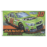 Danica Patrick 10 2 Sided Flag 2013